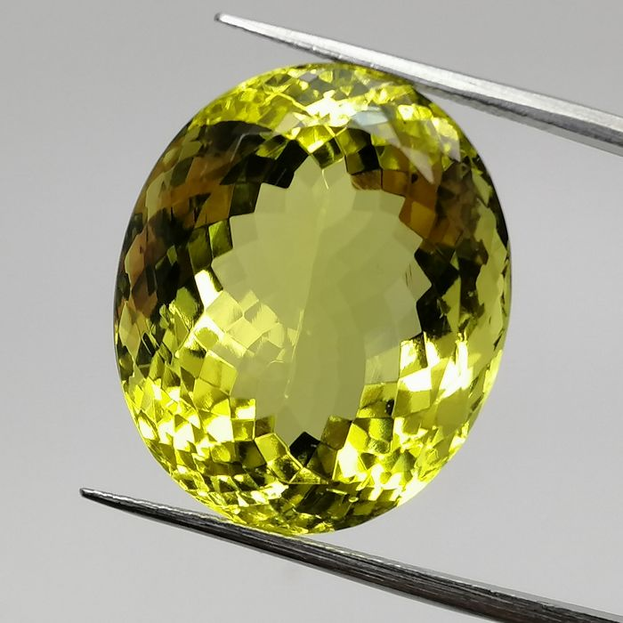 Lemon Quartz - 29.22 ct