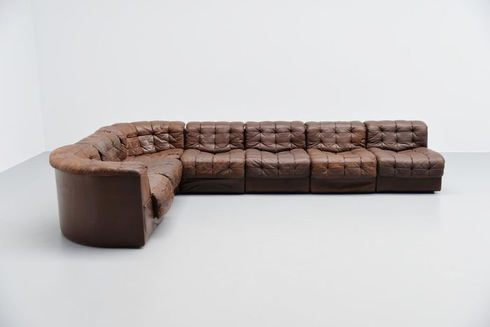 De Sede Patchwork.De Sede Design Team De Sede Ds11 Patchwork Sofa Catawiki