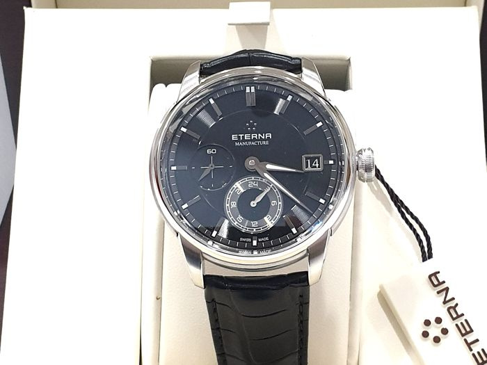 """Eterna - """" NO RESERVE PRICE """"  Adventic GMT and Date - Caliber 3914 Automatic  - 7661.41.46.1324- Swiss Made - Nuovo - Garanzia - Heren - 2011-heden"""
