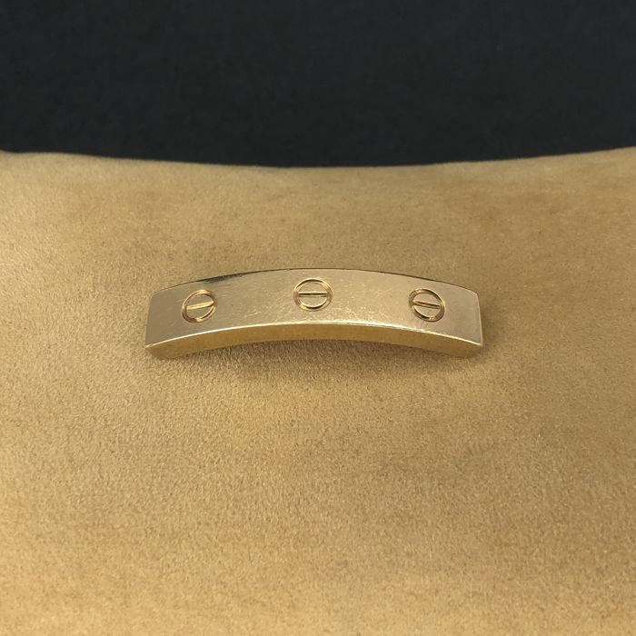 "Cartier ""LOVE"" Collection 18 k Yellow Gold Bracelet Piece - Armband"