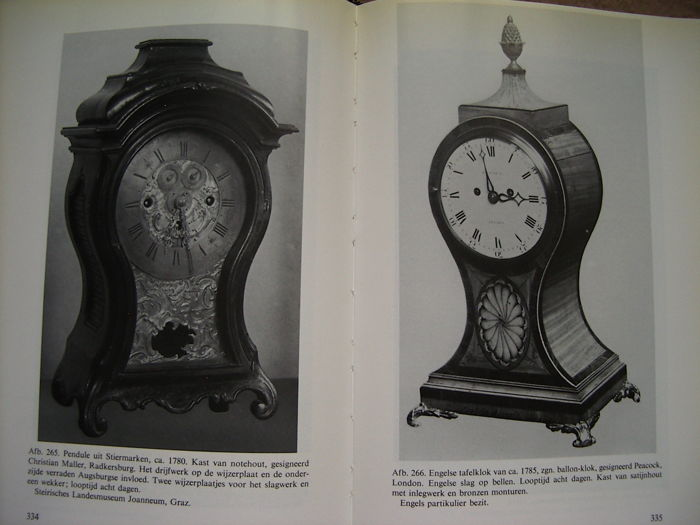 Books 5 Reference Works On Clocks 19651998 20th