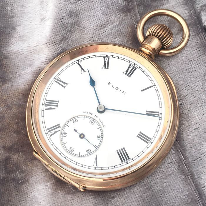 Elgin Watch Company - Pocket watch - NO RESERVE PRICE - Herren - ca. 1900