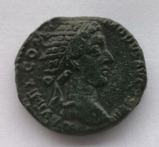 Roman Empire - AE Dupondius, Commodus (AD 179-192) - Victory advancing