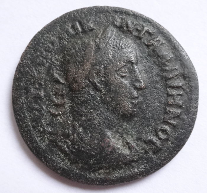 Roman Empire - Ionia, Ephesos. AE, Gallienus (253-268) - Carpentum