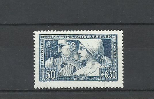 France - 1928 Caisse d'Amortissement - Yvert 252b tipo III