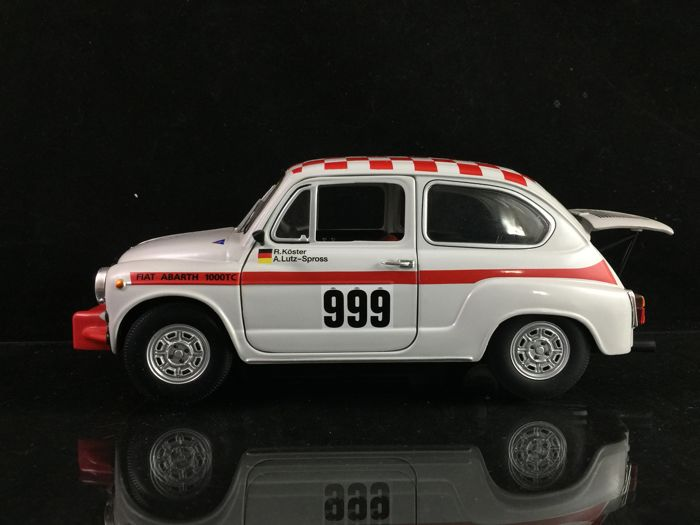 Revell - 1:18 - Fiat Abarth 1000 TC Rallye - No racer with a lot of power
