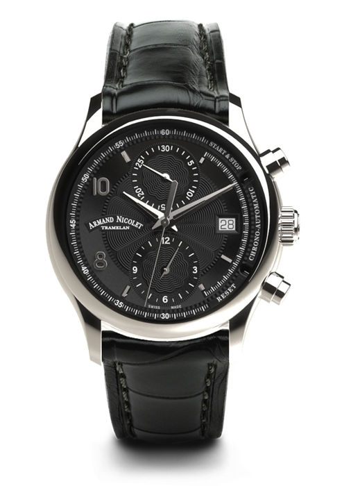 Armand Nicolet - M02-4 Chronograph & Date - A844AAA-NR-P840NR2 - Men - 2011-present