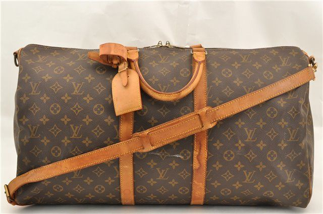 236f6bf23b51 Louis Vuitton - Keepall Bandouliere 55 Travel Boston Weekend bag ...