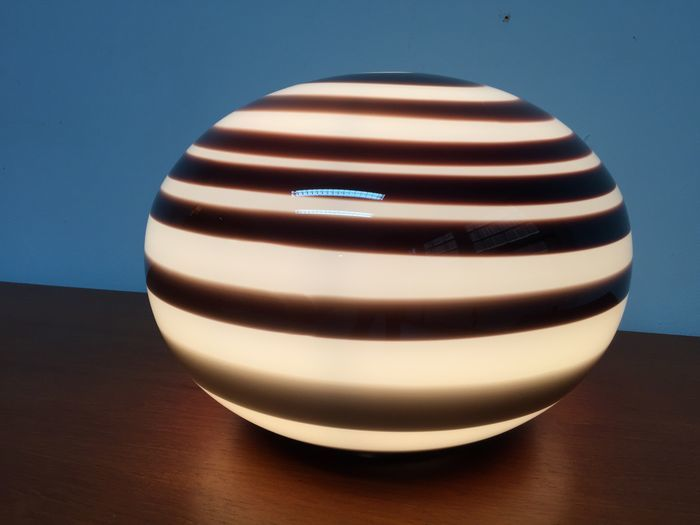 ILU design - Lampe (1) - Orange Zebra
