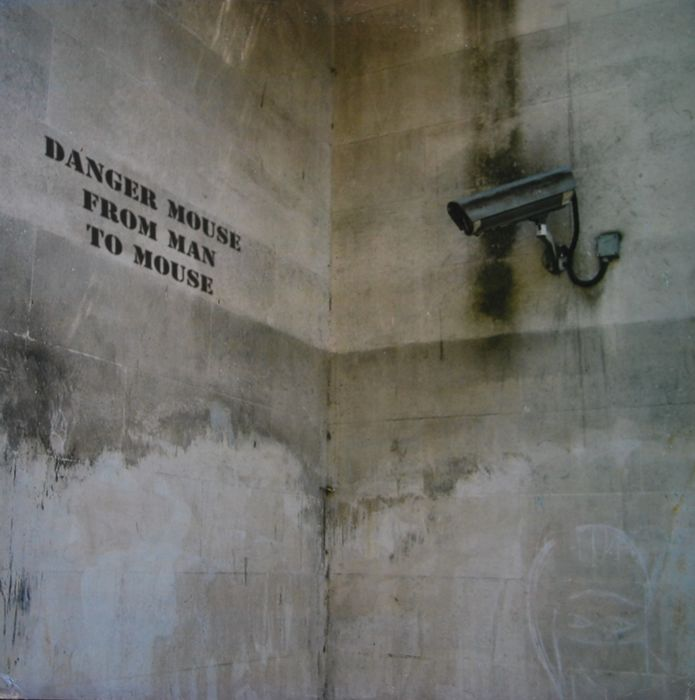 Banksy x Danger Mouse - From Man To Mouse