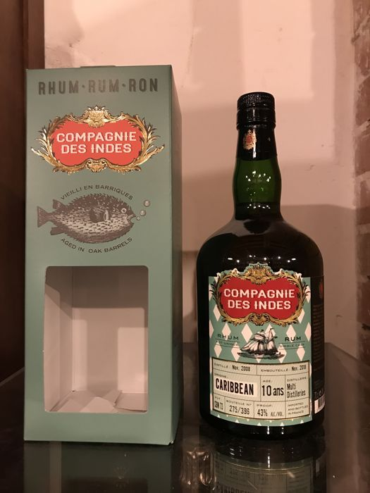 Multi Distilleries 2008 10 years old Compagnie des Indes - Caribbean Single Cask - 70cl