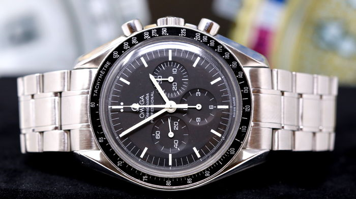 Omega - Speedmaster Moonwatch Professional Plexiglass - Heren - 2000-2010