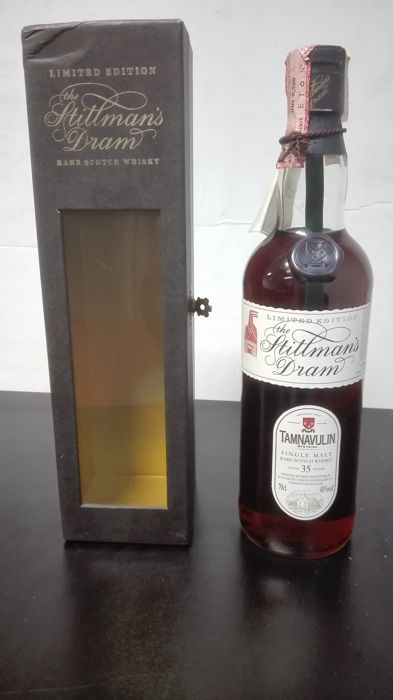 Tamnavulin 35 years old Originele flesser - Stillman's Dram - 0,7 Liter