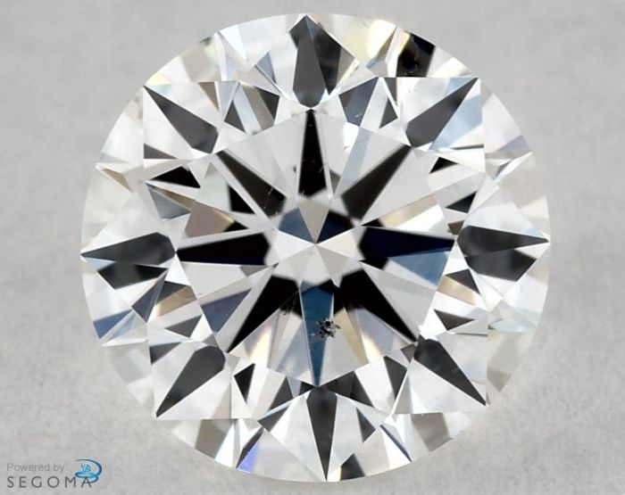 Diamond - 0.50 ct - Rotund - G - SI1