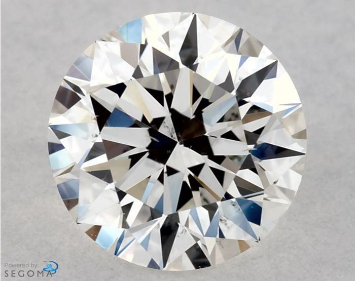 Diamond - 0.70 ct - Rotund - F - VS2