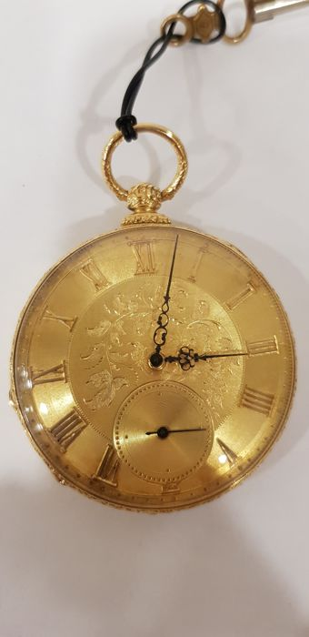 Robert Roskell Liverpool   - pocket watch  - 21251 - Homme - 1850-1900