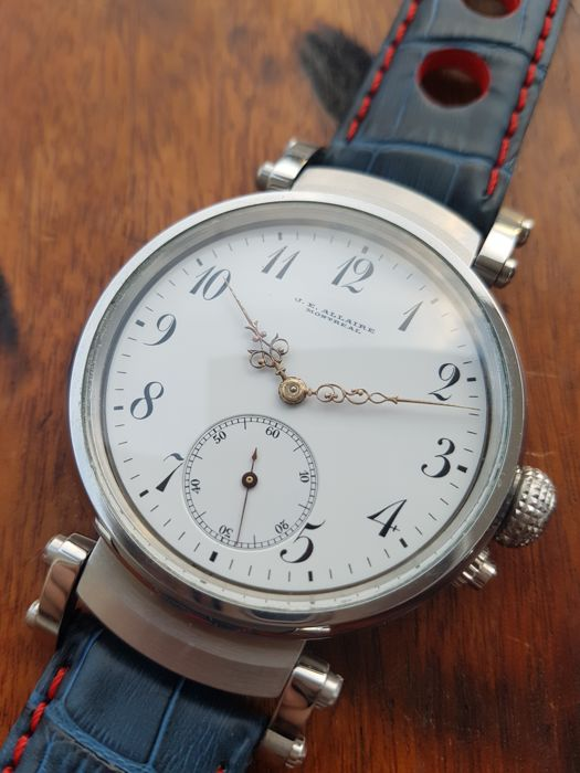 Longines - J.E Allaire Montreal - Marriage watch  - Heren - 1901-1949