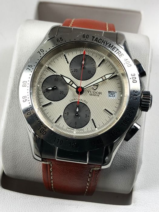 Tudor - Chronautic Chronograph Automatic - 79380 P - Heren - 2000-2010