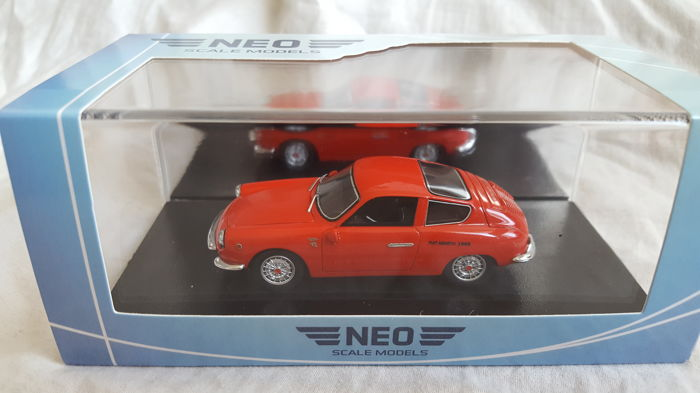 Neo Scale Models - 1:43 - Fiat Abarth 1000 GT Monomille 1963 - NEO44605,
