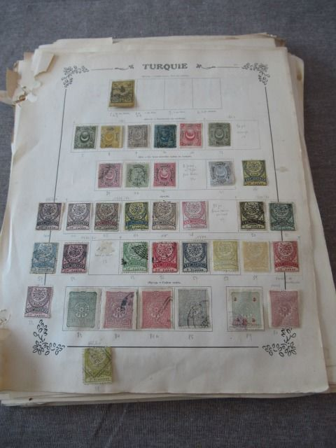 Turkije 1862/1960 - Stamp collection
