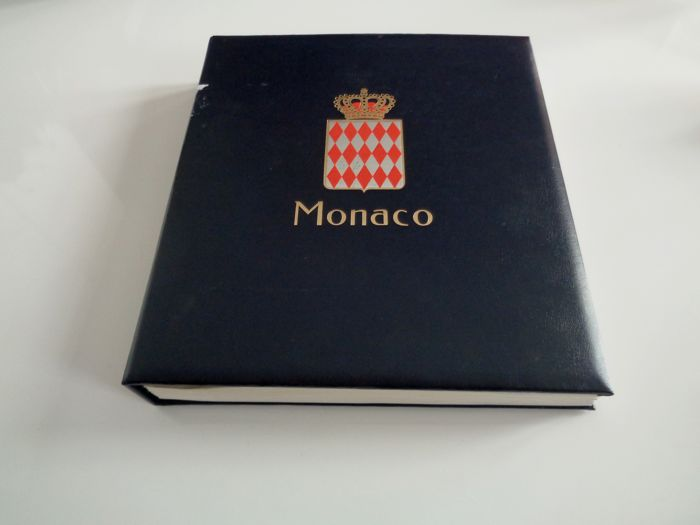 Monaco 1980/1996 - Modern collection supplied in a Davo album - Yvert Entre n°1253 et 2035