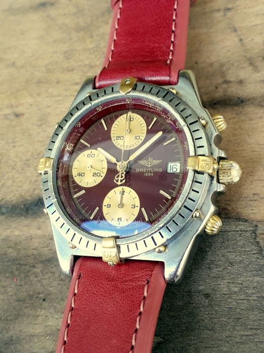 Breitling - Chronomat Red Grape Rare - B13047 - Herren - 1990-1999