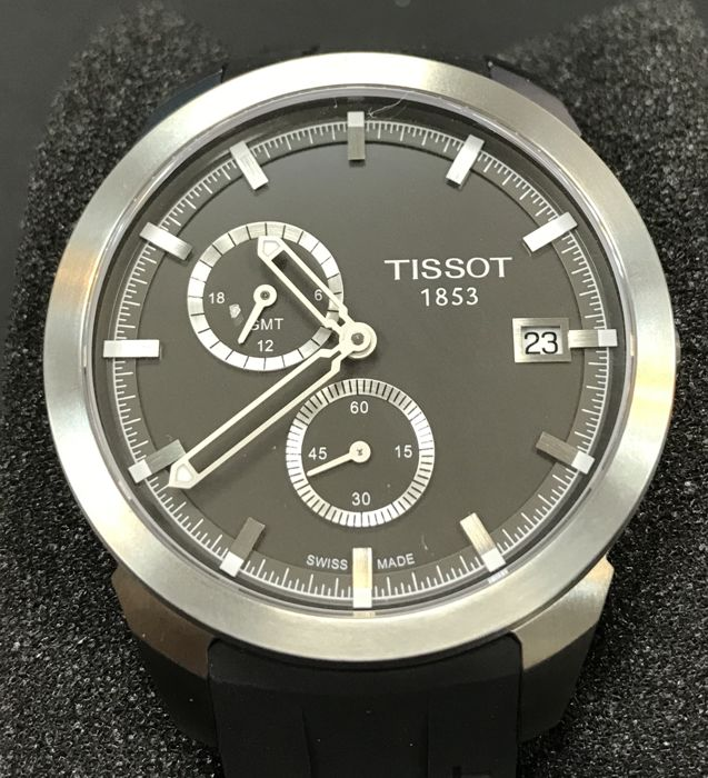 Tissot - Titanium GMT Men's Black Dial 43mm - T069.439.47.061.00 - unworn - Herre - 2011-nå