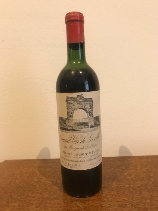 1960 Chateau Léoville Las Cases - Saint-Julien 2éme Grand Cru Classé - 1 Bottle (0.75L)