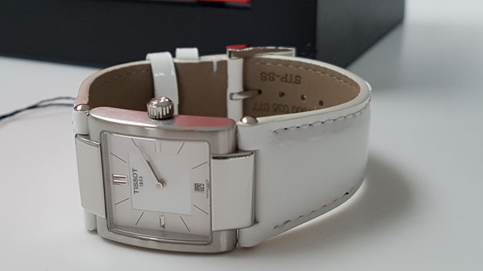Tissot - luxury white lady watch unworn  - Mujer - 2019