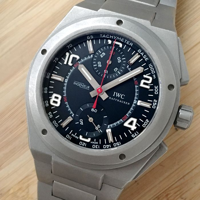 IWC - Ingenieur Chronograph Limited Edition AMG  - IW372503 - Homem - 2011-presente