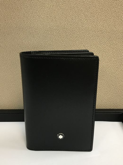 Montblanc - 7167 -  Meisterstück Business Card Holder with Gusset card holder