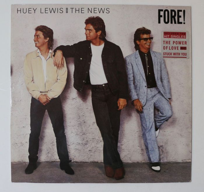 Huey Lewis & the News, Lake - Multiple titles - LP's - 1978