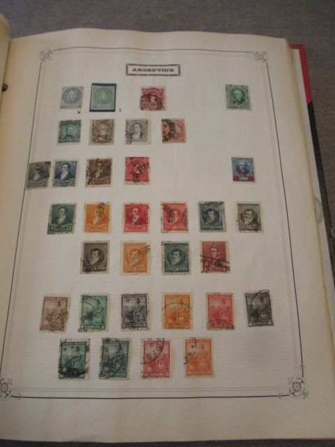 Wereld - Collection of stamps including South America