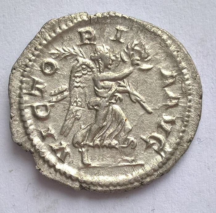 Roman Empire - AR Denarius, Maximinus I Thrax (235-238 AD). March 235 - January 236 (Rome). - Silver