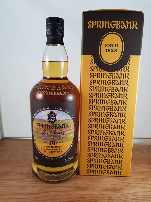 Springbank 2007 10 years old Local Barley - b. 2017 - 0.7 Ltr
