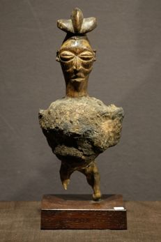 Fetish - Wood - Yiteke, Provenance Gordon B. Lankton  - Yaka - Congo DRC