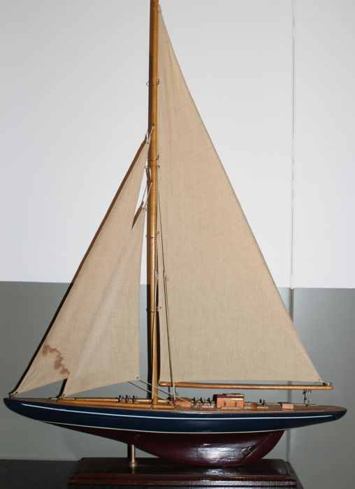 Great Model Sailing Yacht - Hout