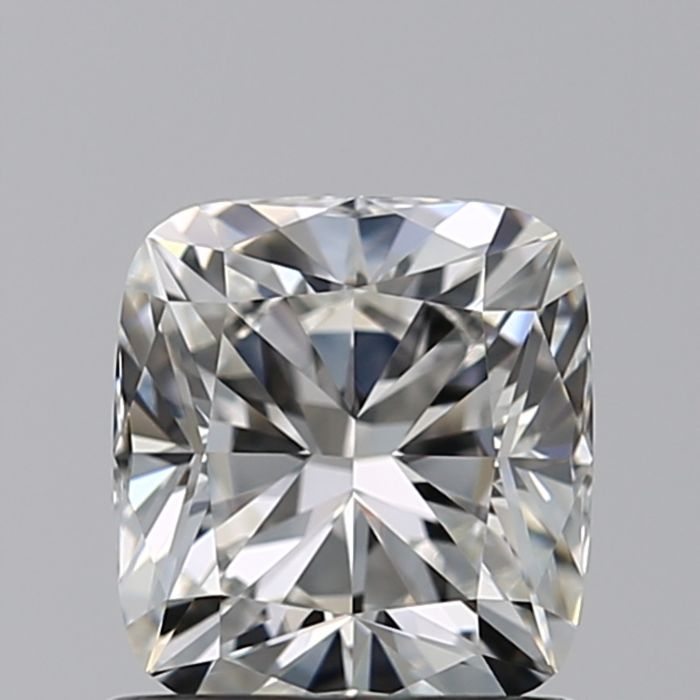 1 pcs Diamante - 0.90 ct - Cojín - G - VVS2