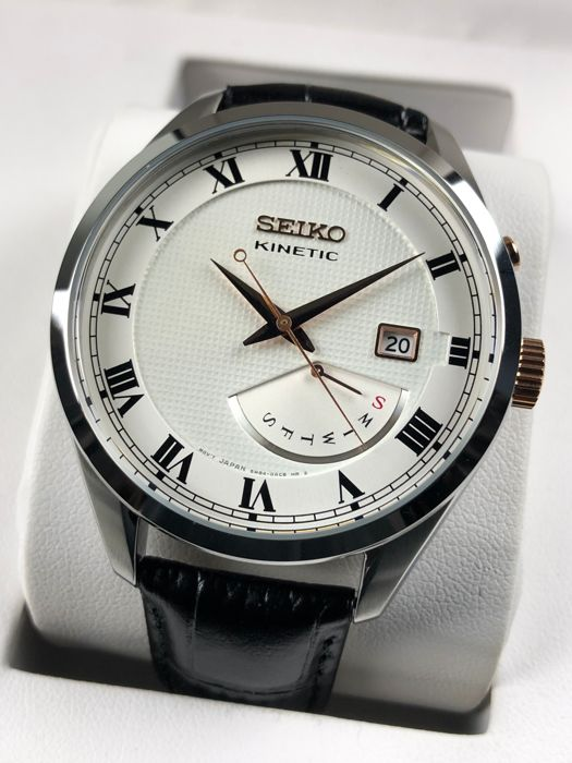 "Seiko - ""NO RESERVE PRICE"" Kinetic - SRN073P1 - Men - 2011-present"
