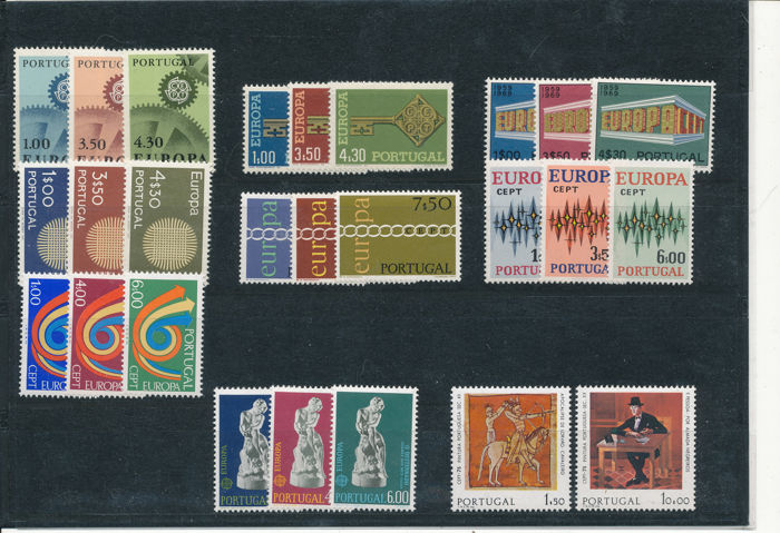 Europe 1975 - Portugal CEPT issue 1967-1975 (5 x) - Michel