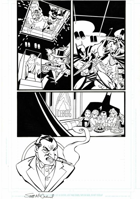 Batman #8 - Page 2 - COUNTDOWN : PENGUIN ORIGINS- EO - (2007) - Loose page - First edition - (2007)