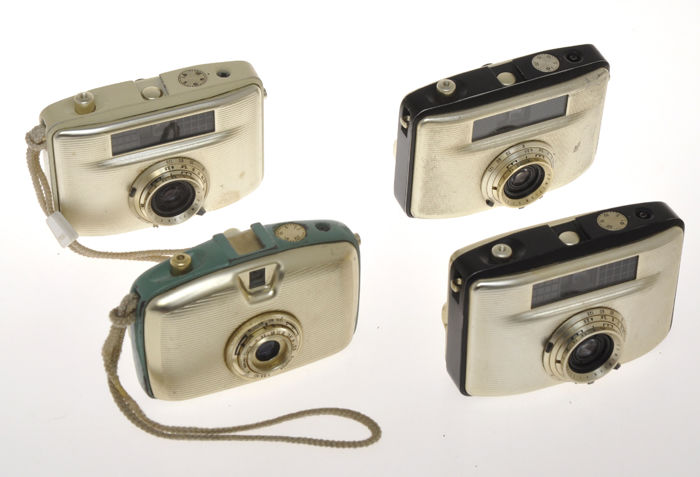 Pentacon, Welta Welta and VEB Pentacon Penti cameras, lot of 4 different models