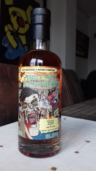 Auchroisk 7 years old batch 4 - That Boutique-Y Whisky Company  - 50cl