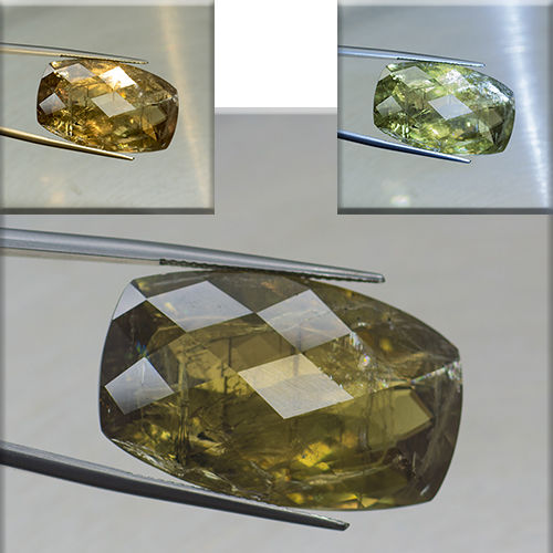 Color Change Diaspore - 50.11 ct