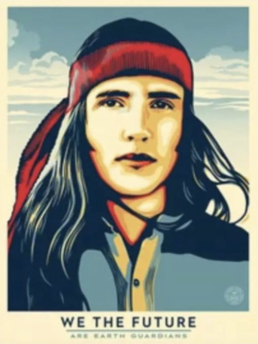 Shepard Fairey (OBEY) - We The Future - Are Earth Guardians