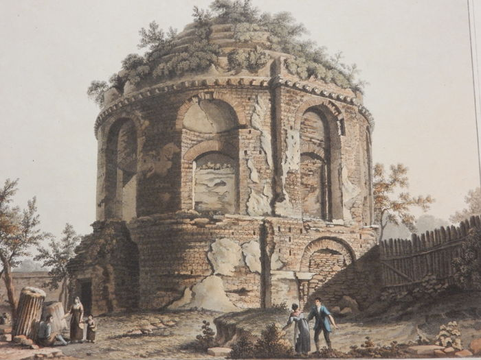 Matthew Dubourg (1786-1838) - Temple of Dea Tussis