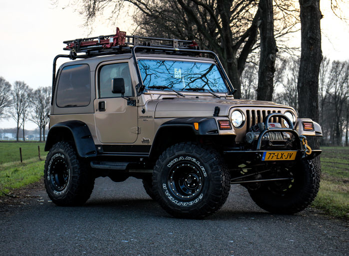 Jeep - Wrangler 4.0 Safari Special Edition 4X4 - 2000