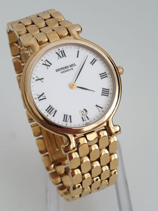 Raymond Weil - Classic 18 Kt Gold Plated - 9137 2 - Unisex - 1990-1999