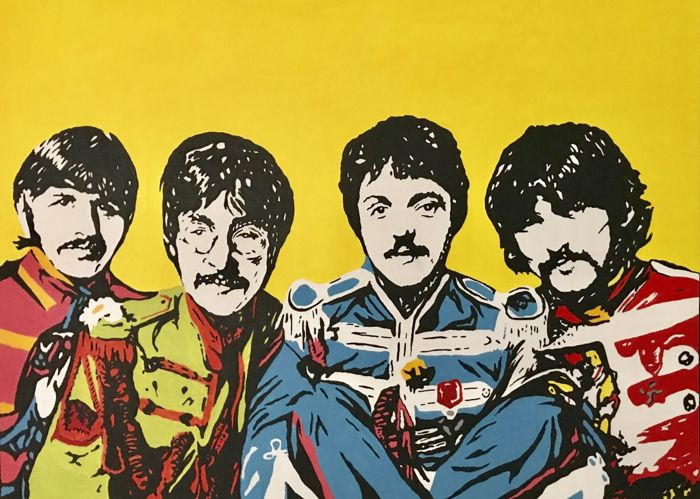 Gerke Rienks - The Beatles, Sgt. Pepper's Lonely Hearts Club Band