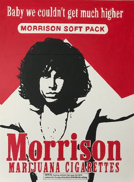 Gerke Rienks - The Doors, Jim Morrison